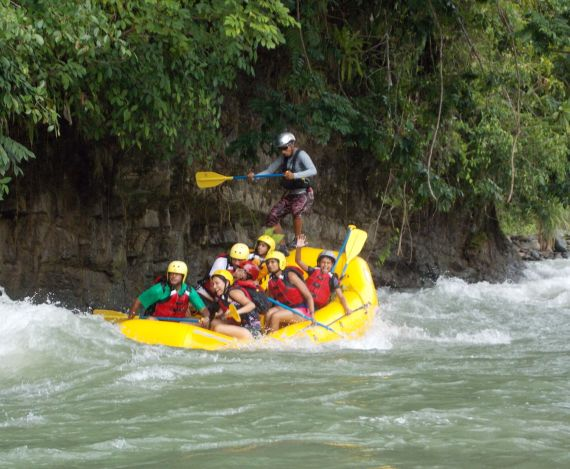 South Pacific Costa rica, our green paradise, RAFTING